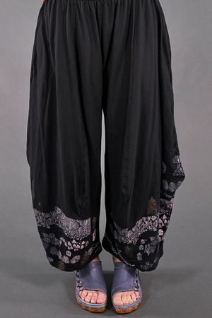 3187-2 Boheme Pant Magpie Black-Fairy Village