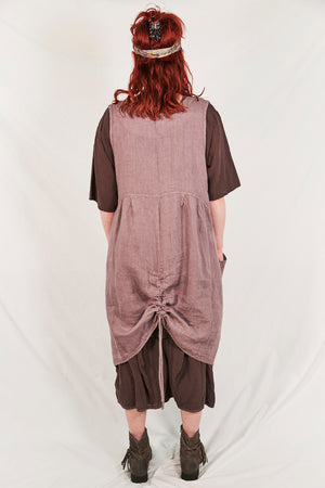6204-Long Cottage Jumper-Plum Haze-Simply Blue Fish