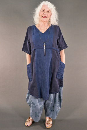 2240 Heart and Soul Tunic Indigo-U
