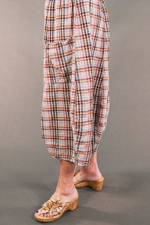3258 Chopped Pant Hushed Pink-U