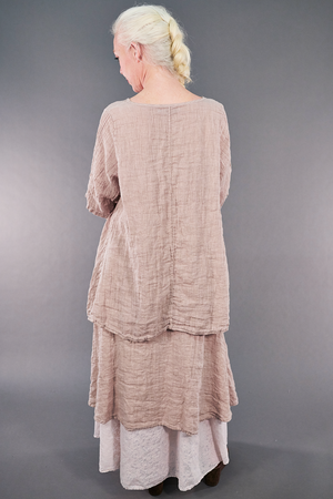 1210 Linen Simple Tunic Malva-U