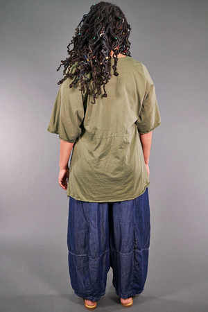 2187-2  Be Here Now Tunic Vegetal-P