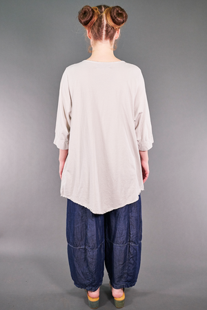 2167 Artist Pocket Top Fog-P