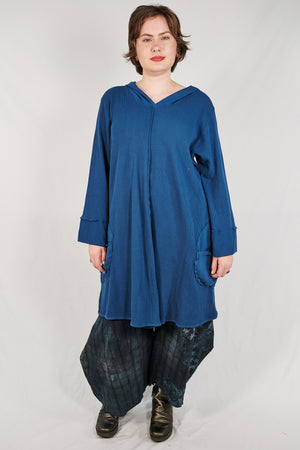 2233- Moonlit Hoodie Pullover-Imaginary Blue-Unprinted