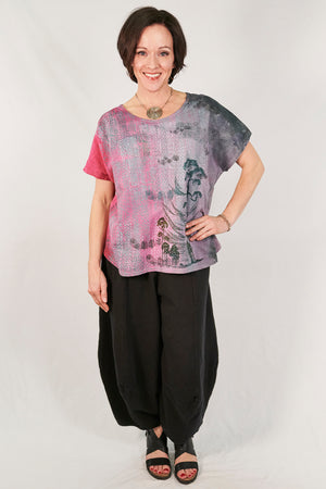1250 HD Hand Dyed Moon Tee Tahiti-P