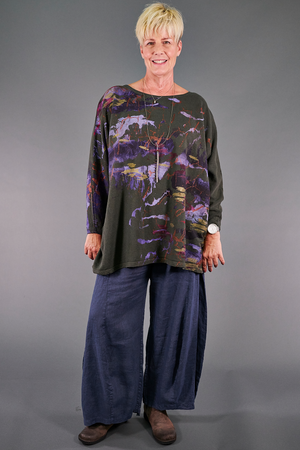 2304 Mariposa Sweatshirt-Night Forest- P