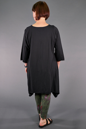 1565 Summer Swing Tunic Magpie Black-P