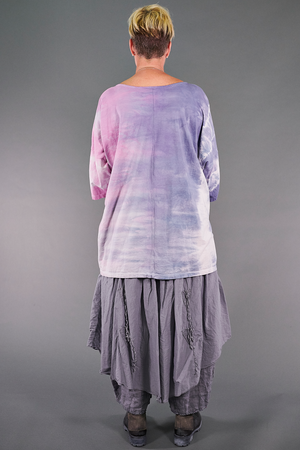 1236HD Hand Dyed Line Tee-Breeze