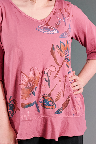 1562 Flounce Tee Bloom-Wildflower