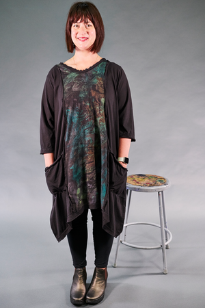 2313 Everyday Vector Tunic-Noir-P