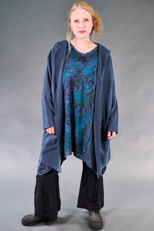 2313 Everyday Tunic-Blue Cypress-Opalescent Landscape
