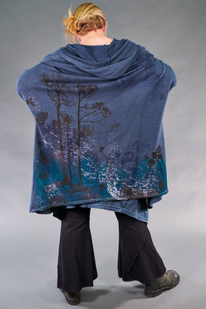 5261 Hooded Cloak-Blue Cypress-Astral Forest