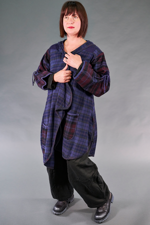 5104 Plaid Flannel Jacket-Odyssey Blue-U