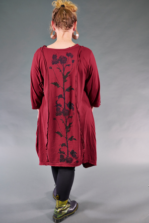 2313 Everyday Vector Tunic-Rowan-Botanic Silhouette