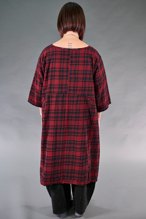7114-Cabin Plaid Dress