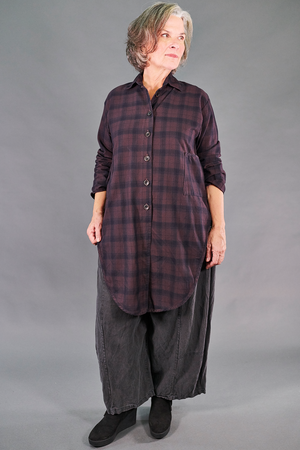 2289 Plaid Buttoned Work Shirt-Kalamata-U