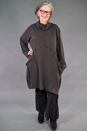 2207 Thermal Travel All Roads Tunic-Italian Umber-U