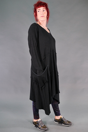 2308- Thermal Vector with Pockets-Black-Unprinted
