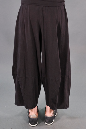 3273 Fold over Four square Pant-Noir-U