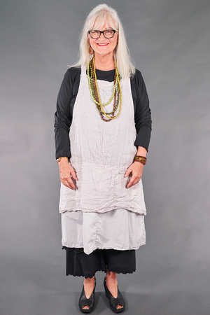 6209 Artist Apron Cool Gray-U