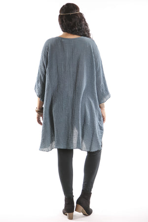 Hand Dyed Ana Tunic 2282- Forest Lake