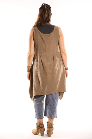6185 Mulberry Mid Layer Linen  Coyote-P