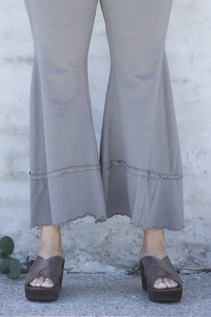 Tiered Ray Pant UnPrinted-3251C soot