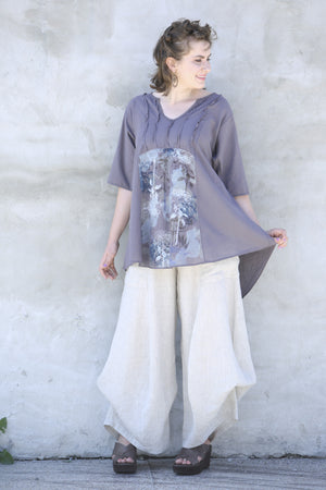 Dawn Clouds Lawn Tunic 2244-Dove-P