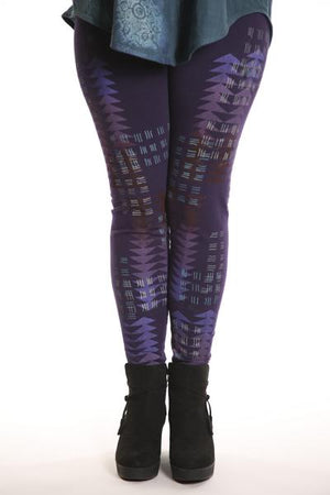3280 Legging Heavy C/L Royal Purple-UNPRINTED