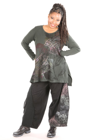 2293 Thermal Voyages Tunic-Marsh-PRINTED