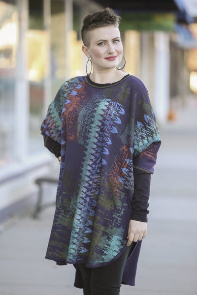 2251 Natural City Tunic Royal Purple 'Energy in Color'