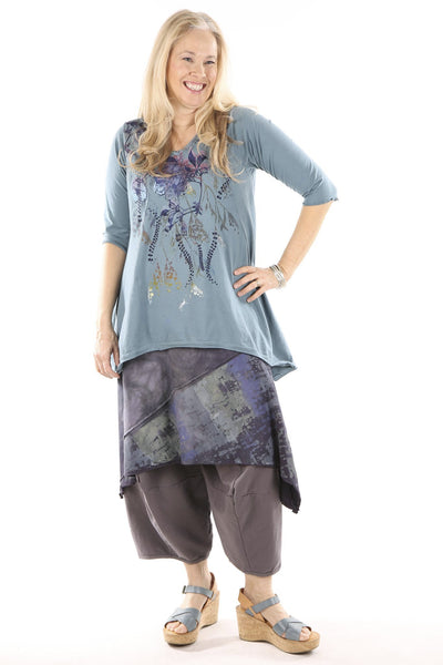1248 Mantra Hi/Lo Top-Kingfisher-P