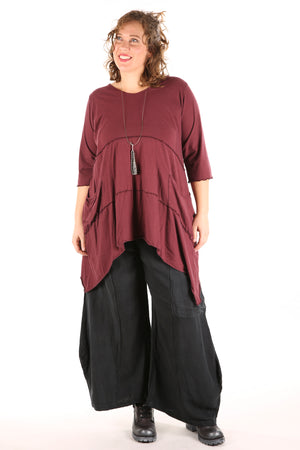 2222 Vector Tunic Ancient Burgundy-U