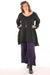 2238- Long Tunic Mineral Black UNPrinted