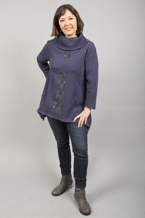 Thermal Pocket Tunic Nightshade Patched-Blue Fish Clothing