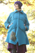 Fleece Sherpa Jacket Patched Fan Fare-Blue Fish Clothing