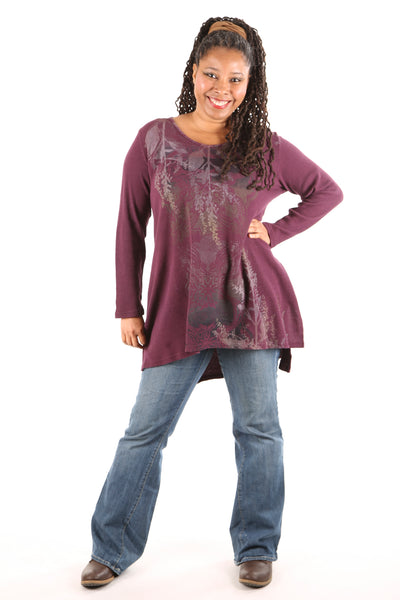 2293 Thermal Voyages Tunic-Jam-PRINTED
