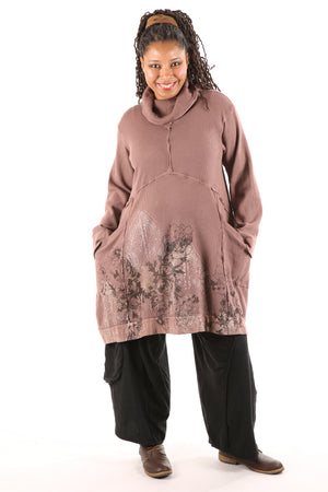 2207 Thermal Travel All Roads Tunic Rosewood
