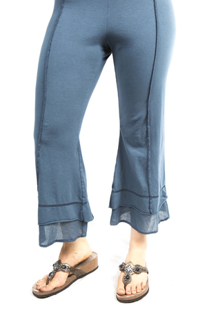 Summer Tiered Crop Pant Hypnea UnPrinted CLEARANCE $48.