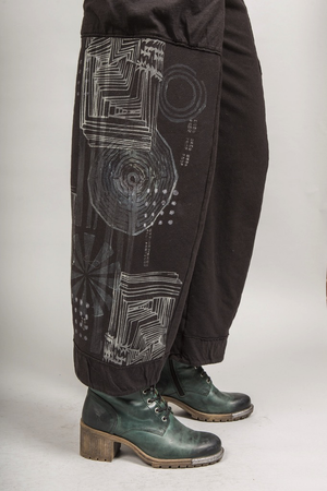 Reversible Pocket Pant Blacken Printed