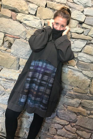 Plaid Thermal All Roads Tunic