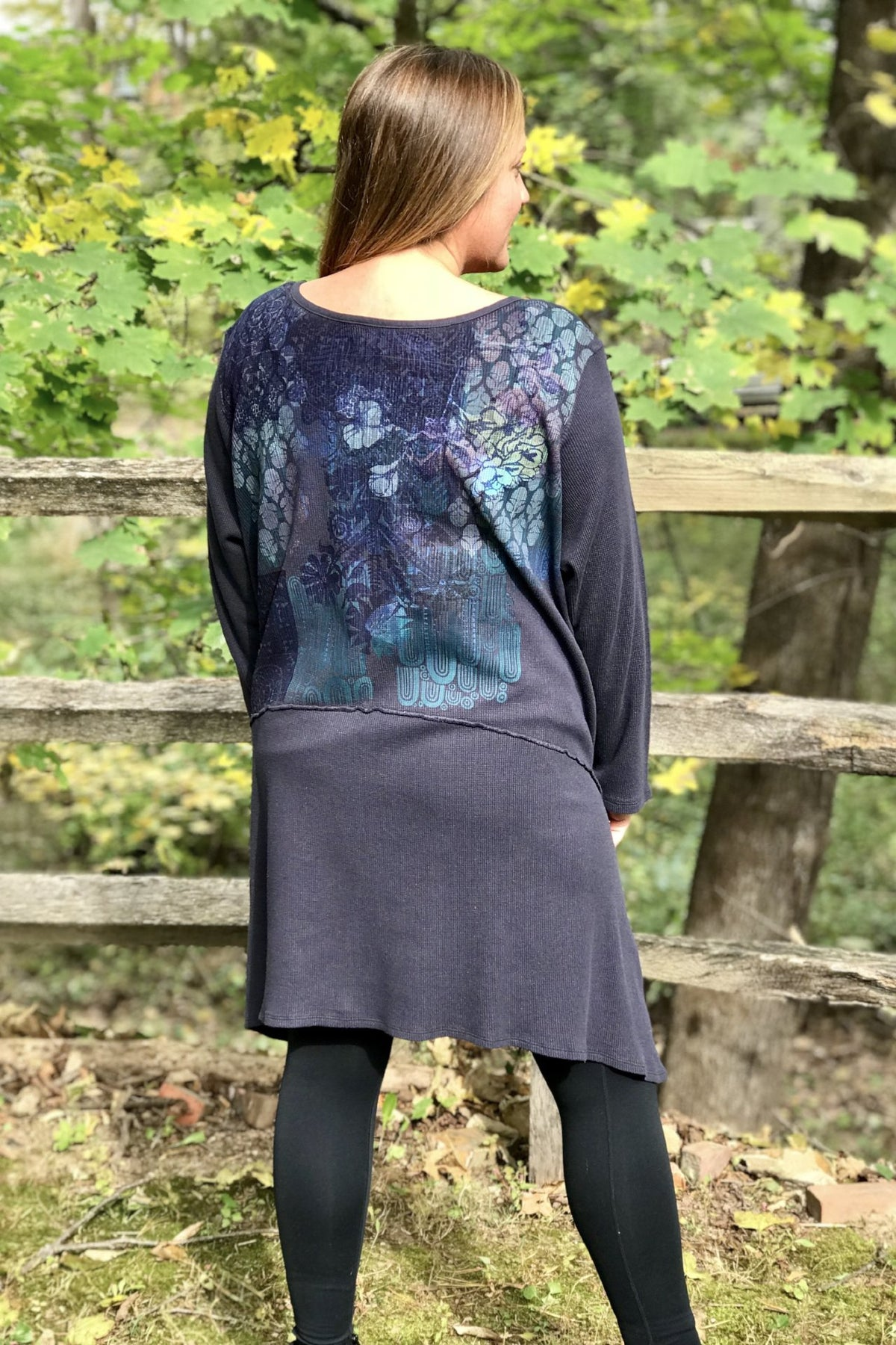 Mystique Printed Thermal Dress