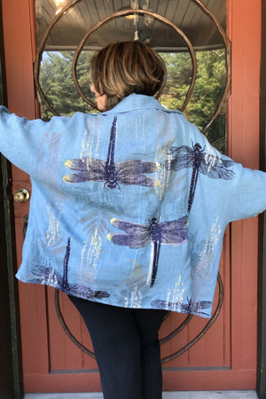 Dragonfly Linen Cardi