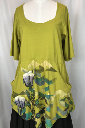 Frenchtown Lucia Be Here Tunic