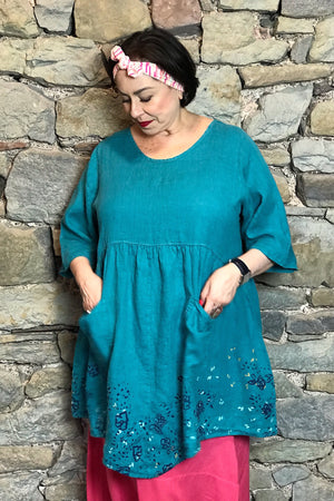Frenchtown Charleston Blu Tunic