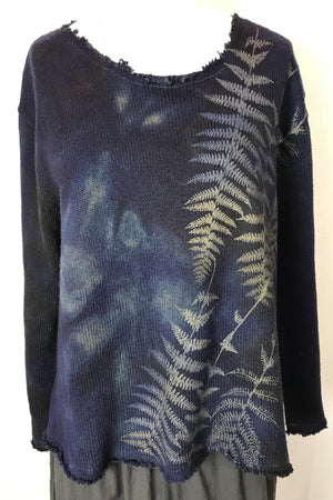 Jomana Cotton Sweater (midnight)
