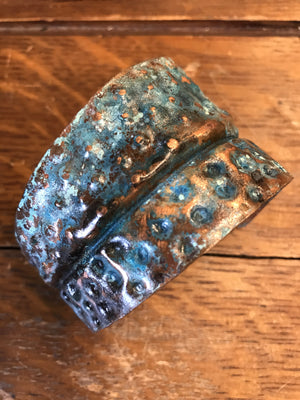Handcrafted Copper Cuff 7