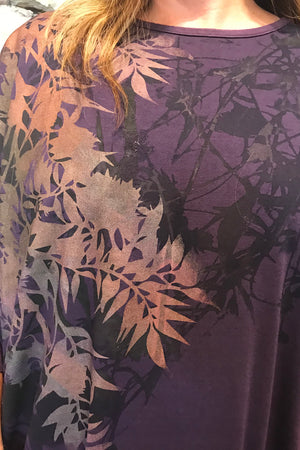 Purple Fall Mariposa Dress