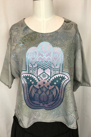 Heather Hamsa Marcy Top
