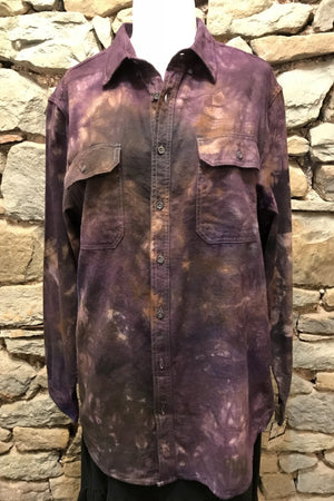 Love Again Shirt Damson Distressed (M)